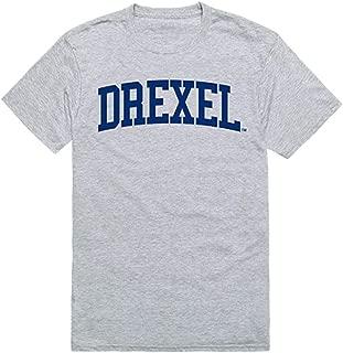 Drexel University Game Day Tee T-Shirt Heather Grey