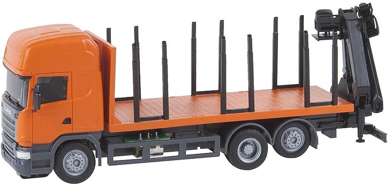 Faller 161634 Scania R13 Kurzholz LKW