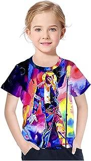 Kids Boys Girls Fashion 3D T-Shirt Michael Jackson Print Tee Shirts Tops