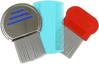 LuftTradeJapan シラミ 専用 梳き櫛 【3種セット】 シラミ対策 ケア/予防ブラシ シラミ除去セット