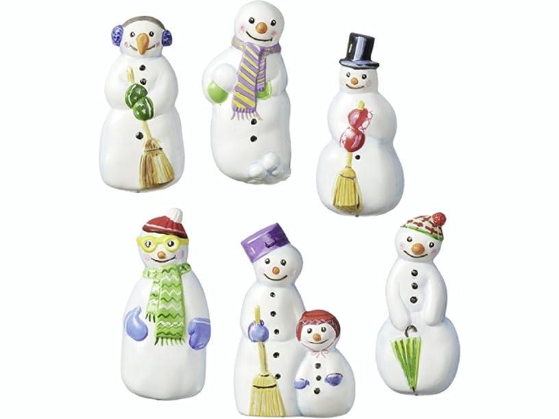 Knorr Prandell Snowmen Moulds, Transparent