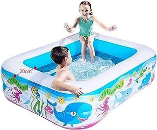 XXTFolding Bathtub Inflatable Swimming Pool PVC Inflatable Pool Household Outdoor Swimming Pool stratified Inflatable Bott...