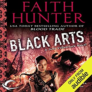 Black Arts     Jane Yellowrock, Book 7              Written by:                                                                                                                                 Faith Hunter                               Narrated by:                                                                                                                                 Khristine Hvam                      Length: 14 hrs and 32 mins     4 ratings     Overall 3.8