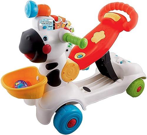 Kinderscooter Kinder Scooter 3-in-1-Zebra-Scooter - Vielseitig Einsetzbar Kann Für 1-3 6-12 Monate Mit Dem Taxi Fahren - Mehrfarbig