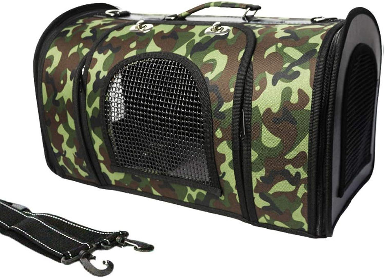 Pet Dog Backpack Dog Out Portable Folding Bag Breathable Gas Travel Bag cat Bag Dog Supplies (color   C, Size   S)
