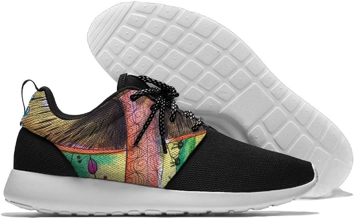 Sneakers Casual Running shoes Mushroom Paintings Lightweight Breathable Mesh Walking Men Women shoes For Sports Athletic Gym Travel