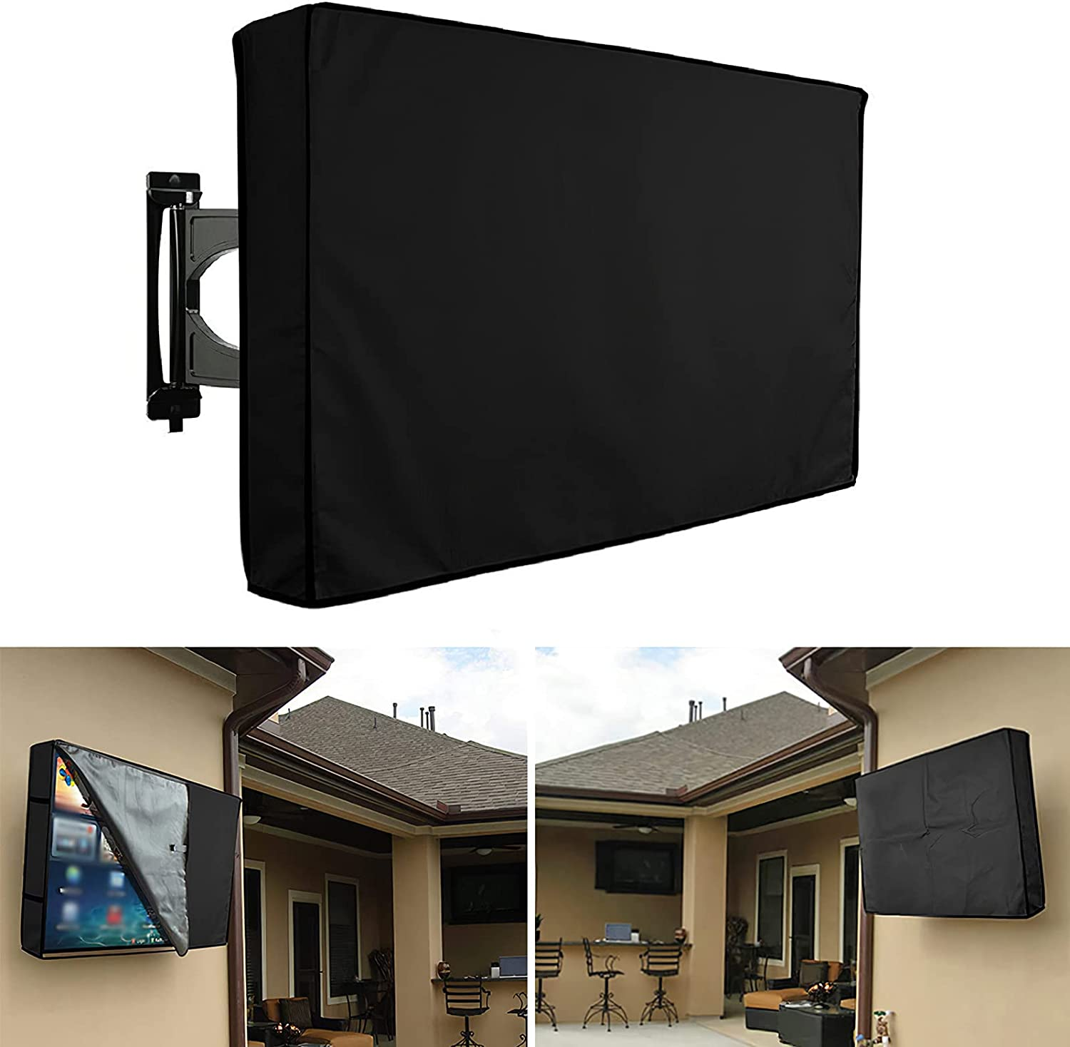 Direct stock discount SHANGSKY Outdoor TV Cover Weatherproof 6 Outside 60 Save money to