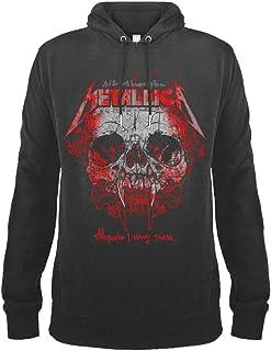 Amplified Clothing Metallica 'Wherever I May Roam' (Slate) Pull Over Hoodie