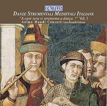 Danze Strumentali Medievali Italiane, Vol. 1