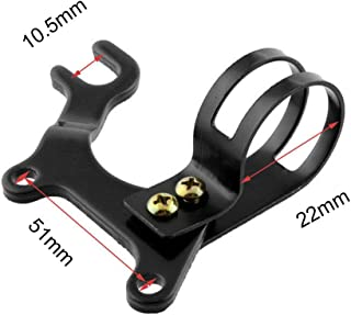 Miles Racing Disque de frein Adaptateur pour le montage Fourchette de IS sur Post Mount 180/mm disque Taille standard