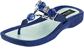 Best blue jeweled sandals Reviews