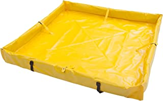 AIRE INDUSTRIAL 918-030304Y Duck Pond Portable Containment, 22.5 Gallon Spill Capacity, 36