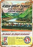 1955グレートノーザンレイルウェイドームドカーズコレクティブルウォールアート