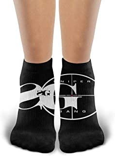 JOELEWIS Kodak Black Mens & Womens Particular Sport Socks White