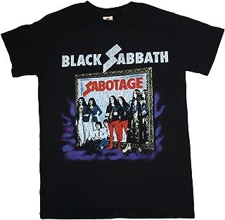 Black Sabbath Sabotage Album Cover Distressed T-Shirt + Coolie