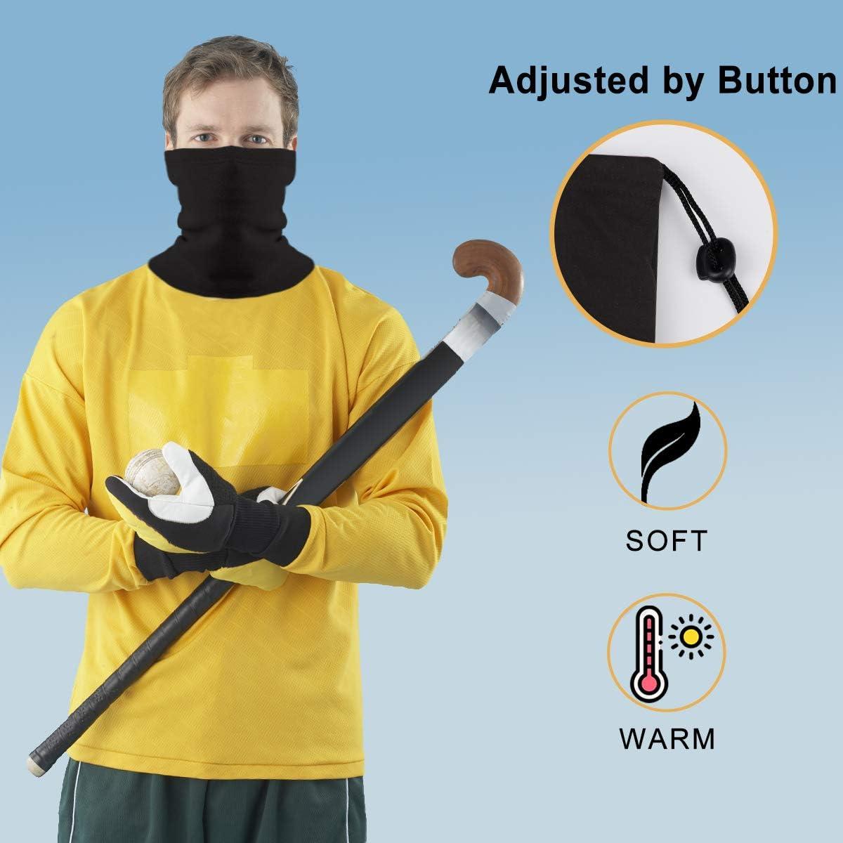 Neck Gaiter Face Bandana Mask Men Women Fall Winter Reusable Washable Breathable Windproof
