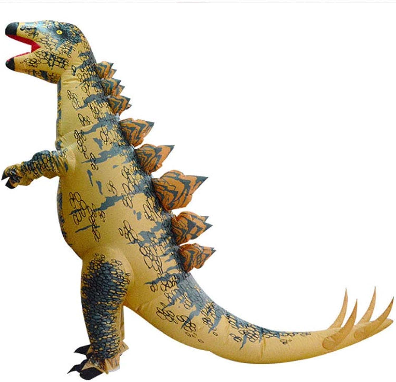 CLCYL Dinosaurier Aufblasbare Kostüm Kinder Aufblasbare Dinosaurier Kostüm T Rex Kinder Halloween Cosplay Tyrannosaurus Rex Tyrannosaurus ElternKind Bühne Kleidung Kostüme
