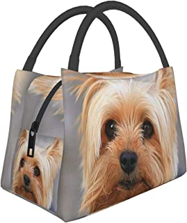 Cutest Yorkies Reusable Insulated Lunch Bag For Kids Men Women Work School Outdoor Travel Picnic Lunch Box Student Cooler ...