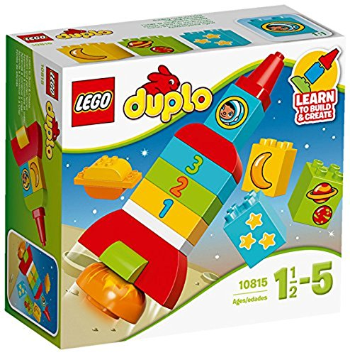 LEGO- Duplo My First Il mio primo shuttle, Multicolore, 10815