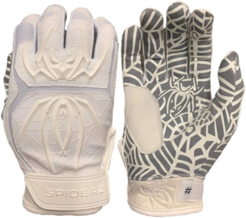 Spiderz 67% OFF of fixed price Adult Hybrid Batting Popular brand in the world Palm Silicone Glove Web