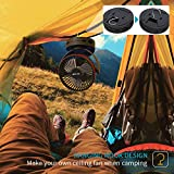 hanging tent fan for pickup bed camping