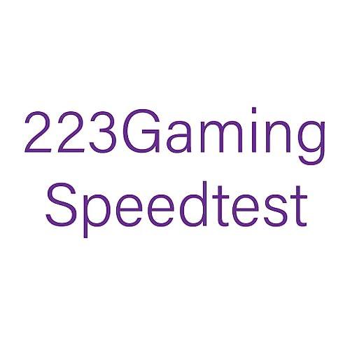 223Gaming Speedtest