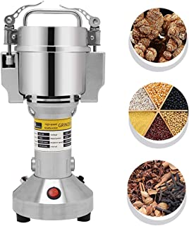CGOLDENWALL 150g Electric Cereals Grain Grinder Mill Spice Herb Grinding Machine Tool Herbs Pulverizer Machine gift for mom and wife
