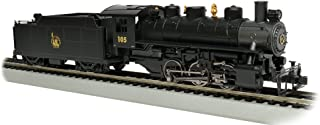 Bachmann Industries Trains Usra 0-6-0 With Smoke & Short Haul Tender Jersey Central #105 Ho Scale Steam Locomotive