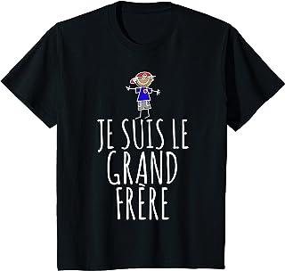 Enfant Je suis le Grand Frère, Annonce Garçon Drôle T-Shirt
