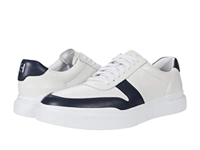 Cole Haan Grandpro Rally Court Sneaker (White/Navy) Men