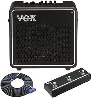【ケーブル/VGS-30+フットスイッチ/VFS3付】VOX ヴォックス VMG-50 MINI GO 50 モバイルバッテリー駆動対応 モデリングアンプ