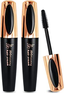 JDO Hair Finishing Stick Hair Feel Finishing Cream Gel Hair Styling Wax Sticks Golden Black 15MLx2 for Baby Flyaway Hair Small Broken Hair Solution Moisturizing Refreshing Non Greasy