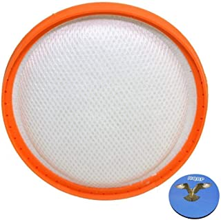 HQRP Washable Pre-Motor HEPA Filter for Vax Power 6 C89-P6N-P / C89-P6N-T / C89-P6N-R Pet Cylinder Vacuum Cleaner + HQRP C...