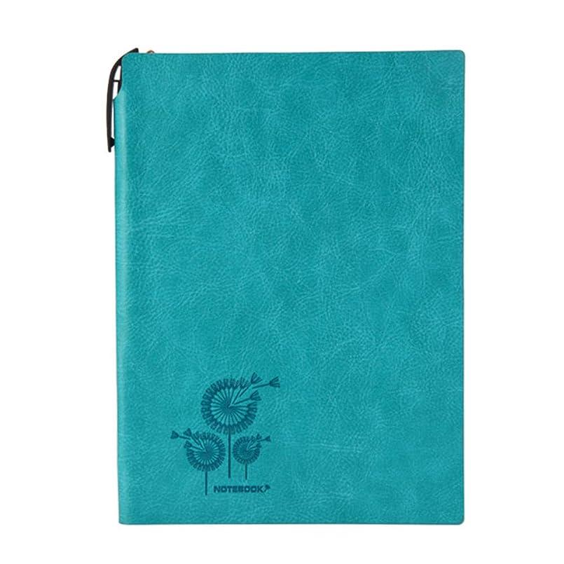 祝福哲学土曜日ビジネスノートブック、男性と女性のための高品質の厚紙模造革のクラシックノートブック