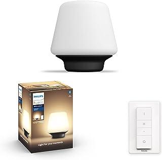 Philips Hue Wellness: Bordslampa, E27 sockel, Philips Hue White Ambiance, Zigbee & Bluetooth, trådlös, kompatibel med Amaz...