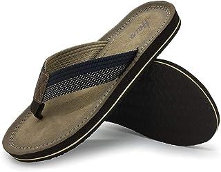 FUNKYMONKEY Men's Sandals Lightweight Flip-Flop Classical for Men