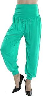 Lakkar Haveli Indian Women's Trouser Pant Girl's Wear Nice Pajama Teal Color Casual Beach Wear Baggie Plus Size