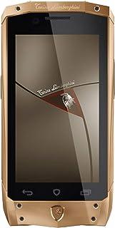Tonino Lamborghini Antares Dual-SIM 32GB Luxury high-end Fashion 3G Smartphone (Rose Gold - Black)