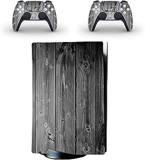 Adesivo adesivo de vinil para console PlayStation 5, protetor antiderrapante compatível com PlayStation 5 Edição Digital, ...