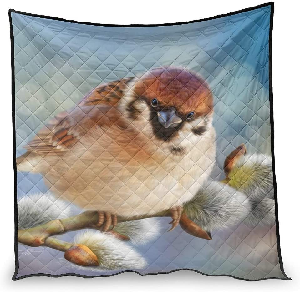 Hiperfay Animal shipfree Bird Cozy Throw Blanket Kids Beddi Bed Couch Max 70% OFF for