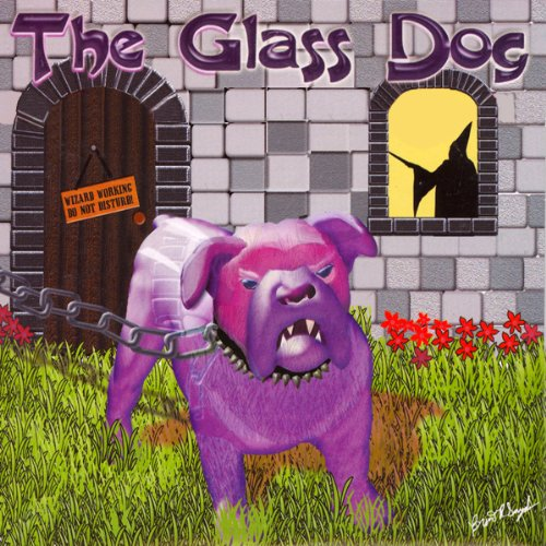 The Glass Dog audiobook cover art