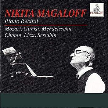 Nikita Magaloff: Piano Recital