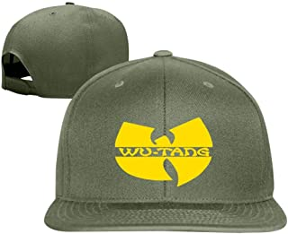 COLOD W-u Tang Clan Hat Fashionable Personality Vintage Adjustable Baseball Cap for Boys and Girls