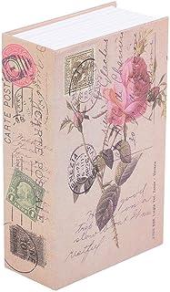 Jacksking Mini Coffre-Fort, Livre créatif Collection de Bijoux en Argent pour Rangement Billet de Rangement pour Livre Cof...