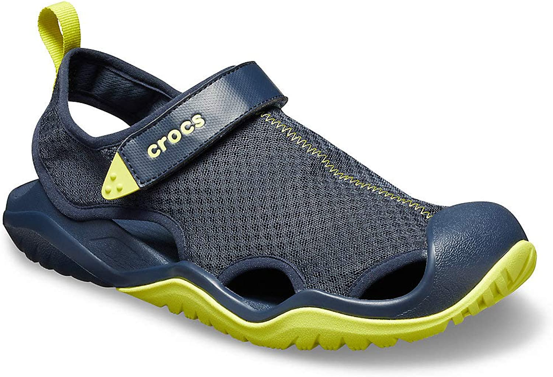 Crocs Men's Swiftwater Mesh Deck Sandal M Clogs