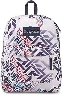 JanSport Superbreak Backpack - Botanical Geo - Classic, Ultralight