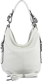 OBC Damen Tasche Shopper Hobo-Bag Henkeltasche Schultertasche Umhängetasche Handtasche Crossover CrossBag Damentasche Reis...