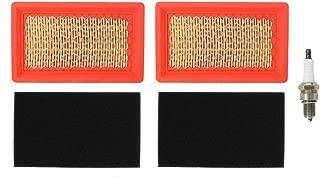MOTOKU Air Filter Pre-Cleaner Pre Filter Spark Plug Tune-Up for Kohler XT149 XT173 Courage XT-7 173cc 149cc Engine Cub Cadet Toro Lawn Mower 14 083 01-S MTD 751-10538