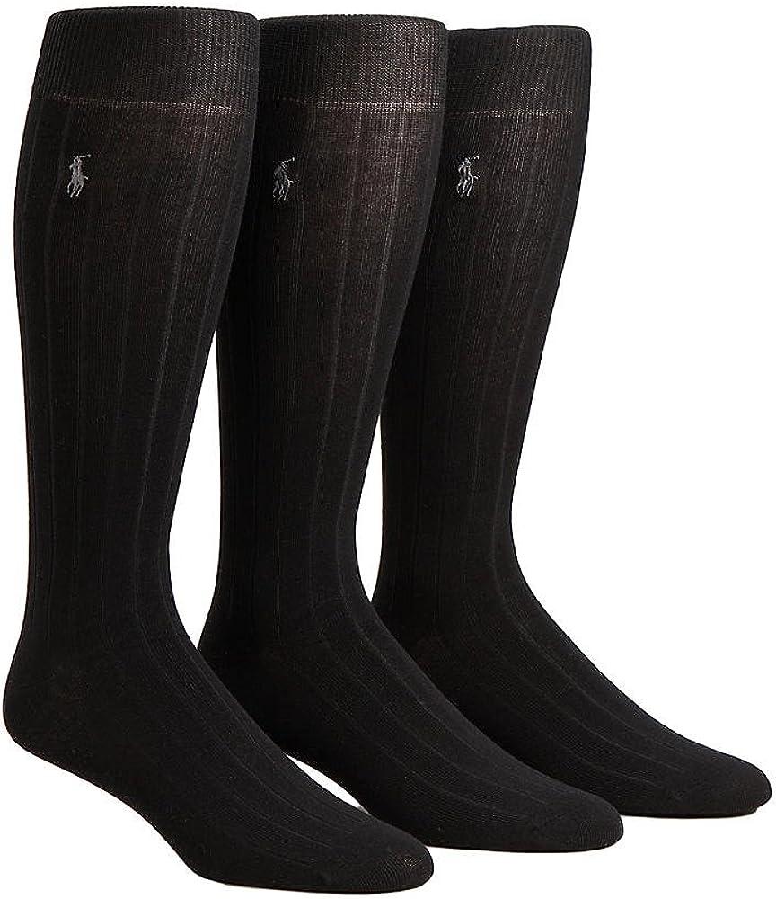 Over The Calf Dress Socks 3-Pack