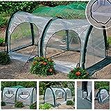 Pop Up Invernadero Mini Invernadero Porttil Transparente Invierno Plegable Pequea Casa de Cultivo para la Proteccin de Las Plantas de los Vientos Fros Afilados Heladas y Nieve